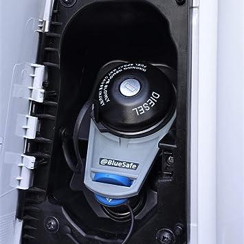 Adblue Verschluss Deckel Sicherung Tanksicherung Für Tankverschluss Tankdeckel Typ Citroen Jumper Adbluesafe Grau Auto