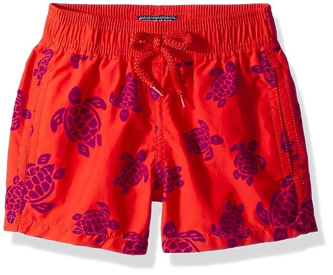 a6c7af6d47bd4 Vilebrequin - Tortues Flockées Swim Shorts - Boys - Poppy red - 8Yrs ...