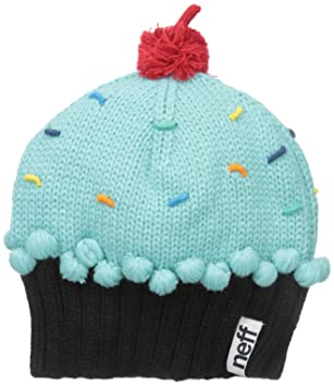 d6ecee5b4b681 Neff Women s Cupcake Beanie Hat-Turquoise