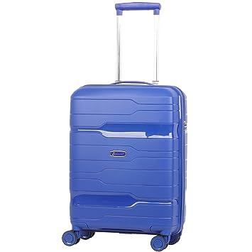 Aerolite Premium Hard Shell 8 Ruedas Carry On Hand Cabin Equipaje Maleta 55x40x20 cm con Cerradura