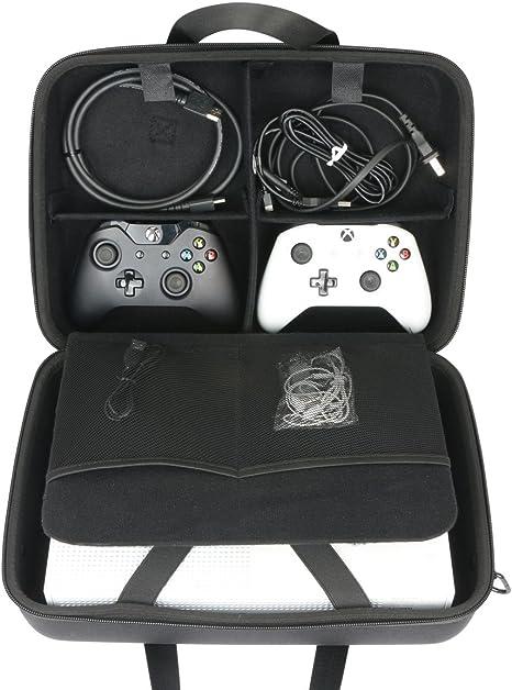 para Microsoft Xbox One X - Consola EVA Funda Estuche Bolso by ...