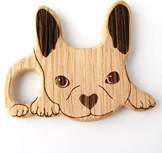 Frenchie Baby Toy Teether New Baby Gift Add On french bulldog