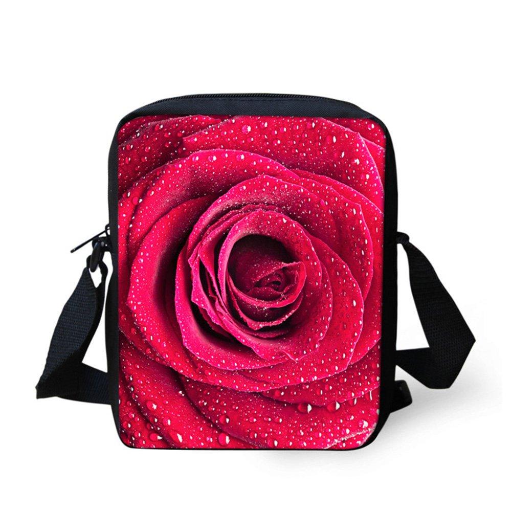 Mumeson Fashion Floral Women Crossbody Messenger Bag Simple Purse Casual Handbag