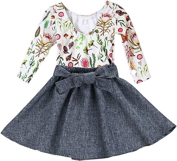 Conjunto de Ropa para bebé y niña, diseño Floral con Mariposas ...