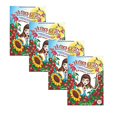 LA Chica FRESITA CAR AIR FRESHENER, Pack of 4: Automotive