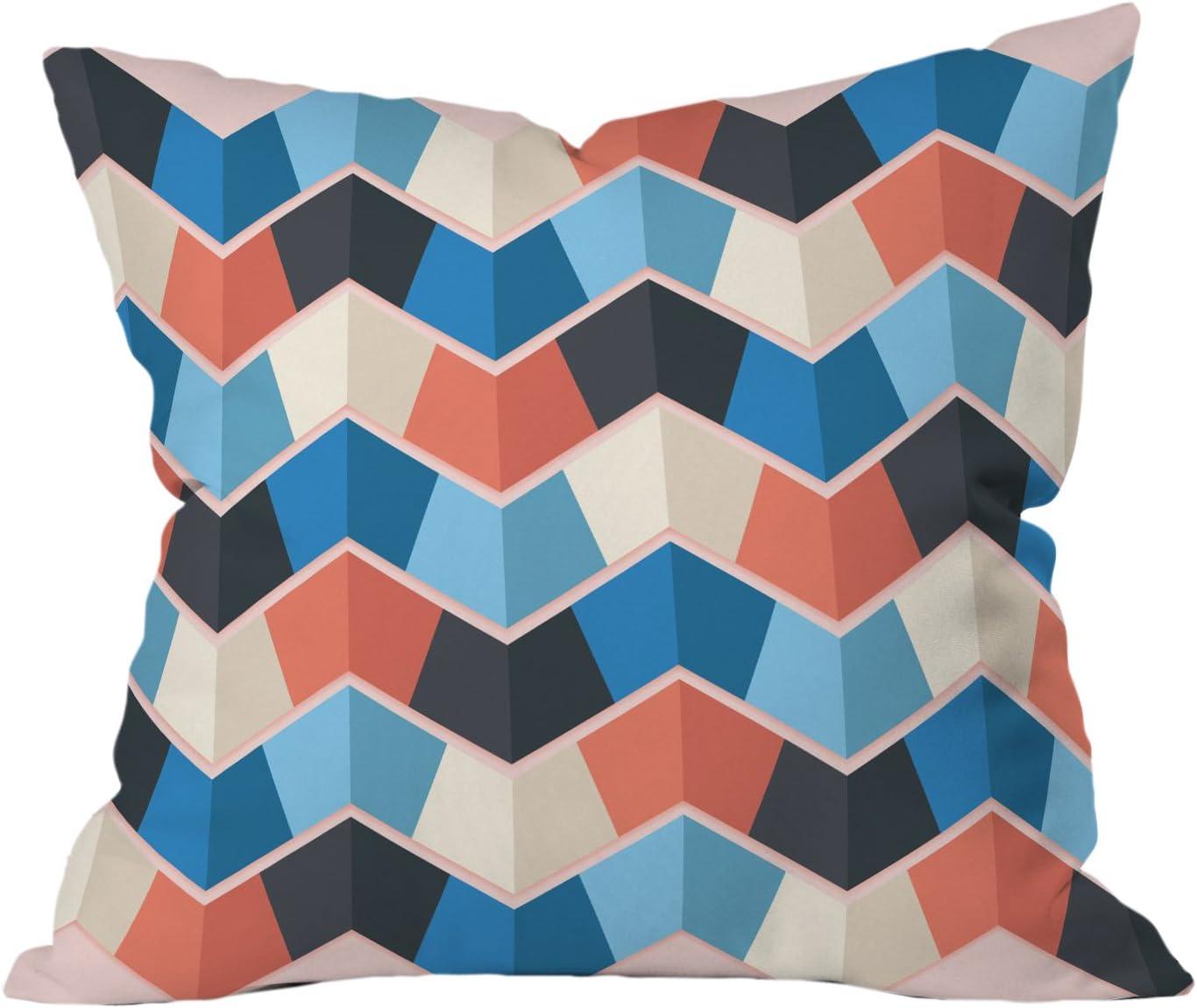 Peking Handicraft Island Christmas Hook Wool Lumbar Pillow Multicolored 31HRS1568C18OB