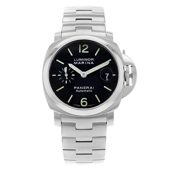 Panerai Luminor Marina PAM00299 automático reloj de acero inoxidable para hombre