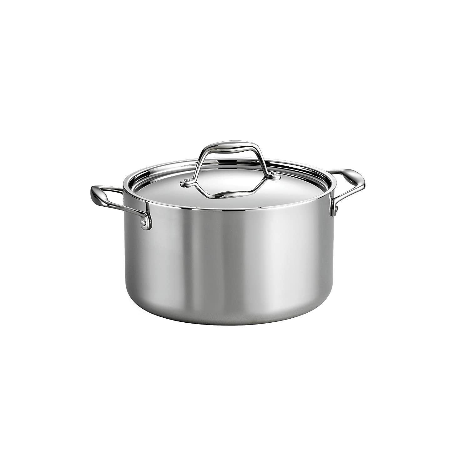 Tramontina 80116/040DS Covered Sauce Pot, 6-Quart, Stainless