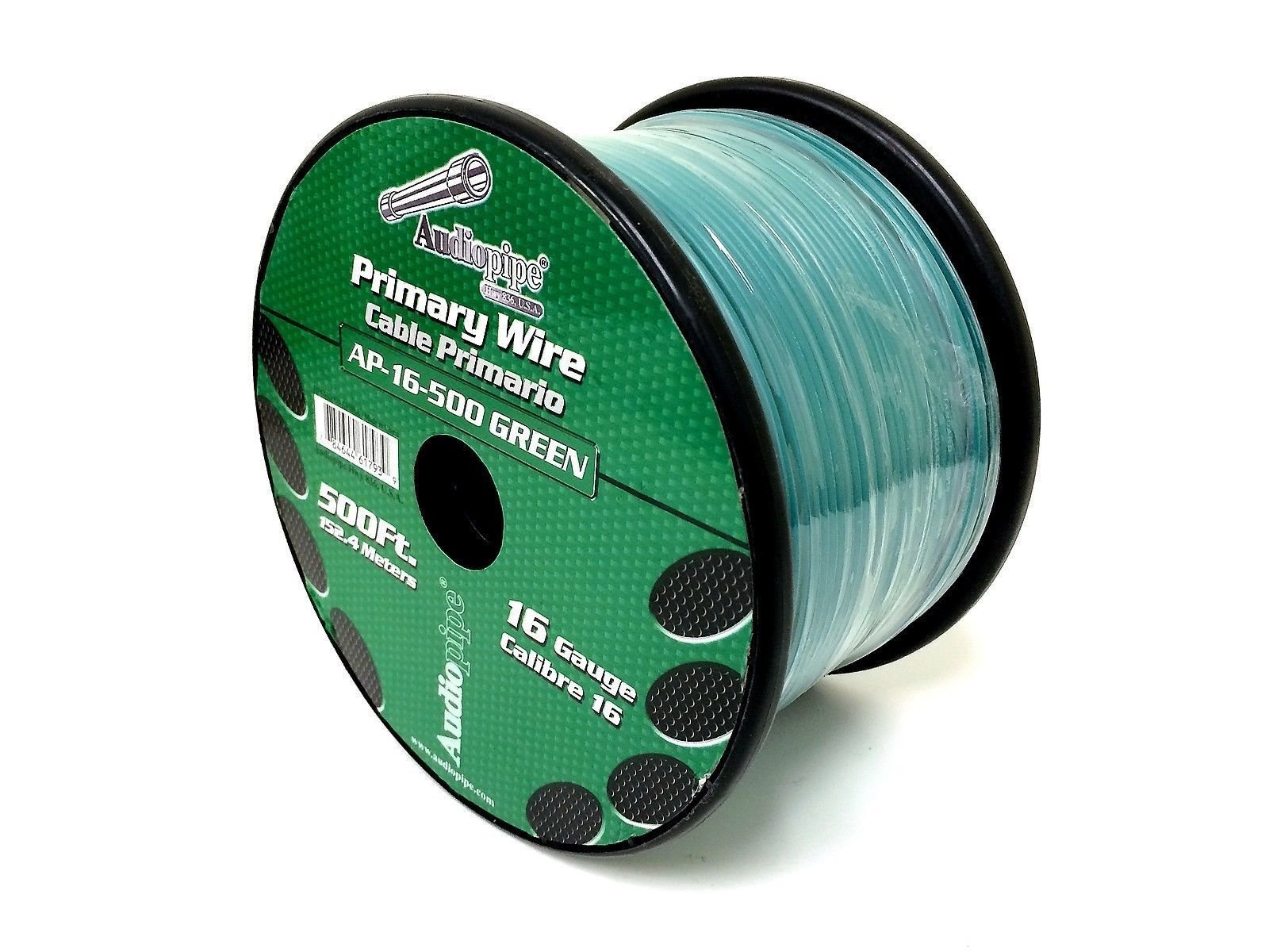 3 Rolls of 16 Gauge - 500' each Audiopipe Car Audio Home Primary Remote Wire by Audiopipe (Image #4)