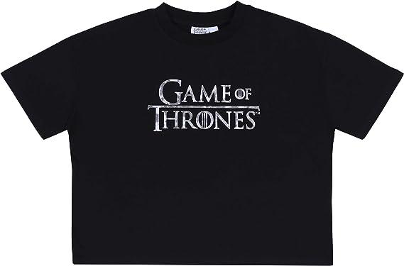 Game Of Thrones sarcia.eu Camiseta Negra Juego de Tronos: Amazon.es: Ropa y accesorios