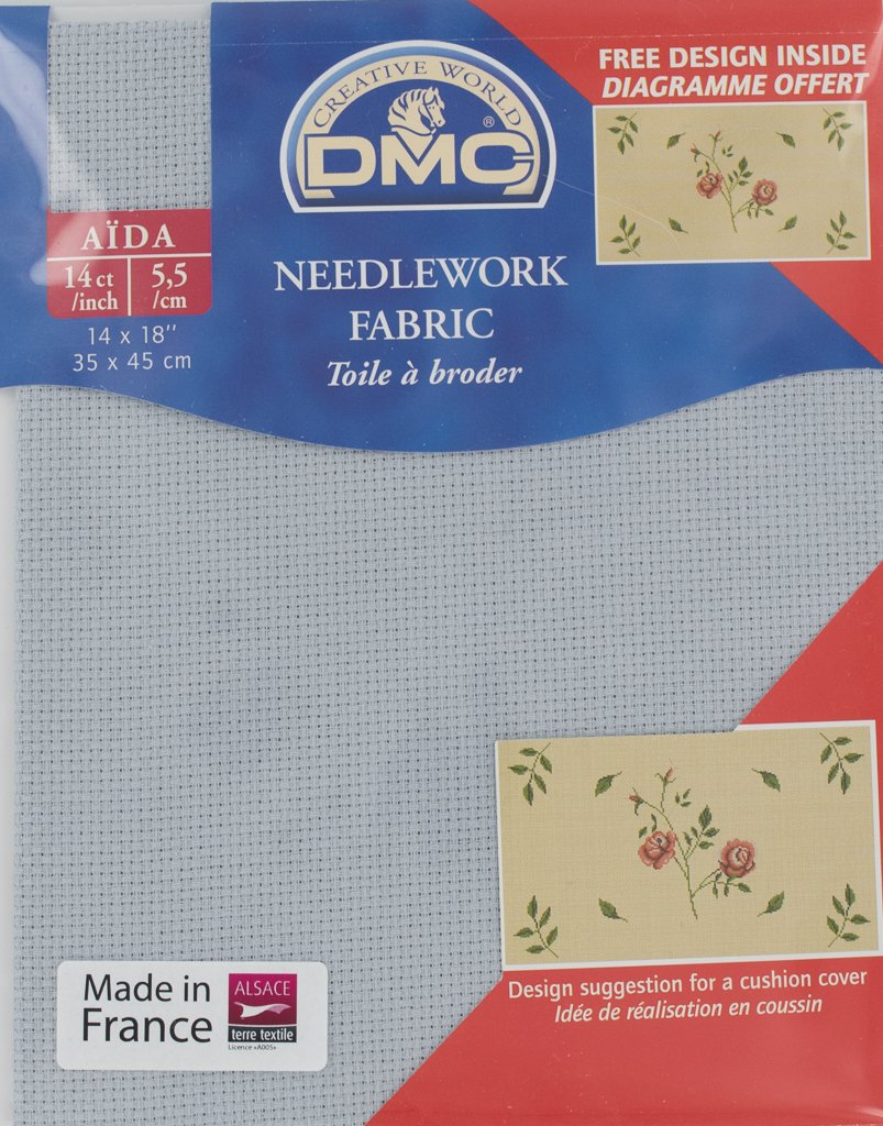 DMC 14 Count Aida Fabric 14x18 inches (35x45cm) - DC27/415
