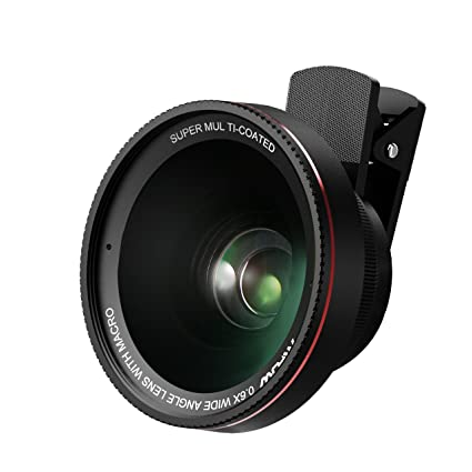 Amazon.com: Mpow Optic Pro iPhone Camera Lens, Full Screen Fisheye ...