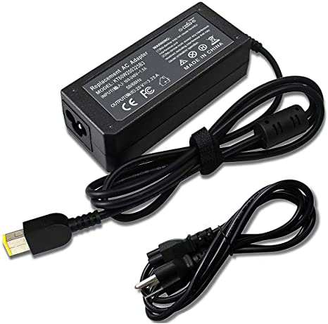 65W 45W 20V Laptop Square USB Charger Compatible with Lenovo Ideapad Yoga 13 S431 E540 L440 L470 E555 E550 W550S 300 500 S440 B50 T560 G51 ...