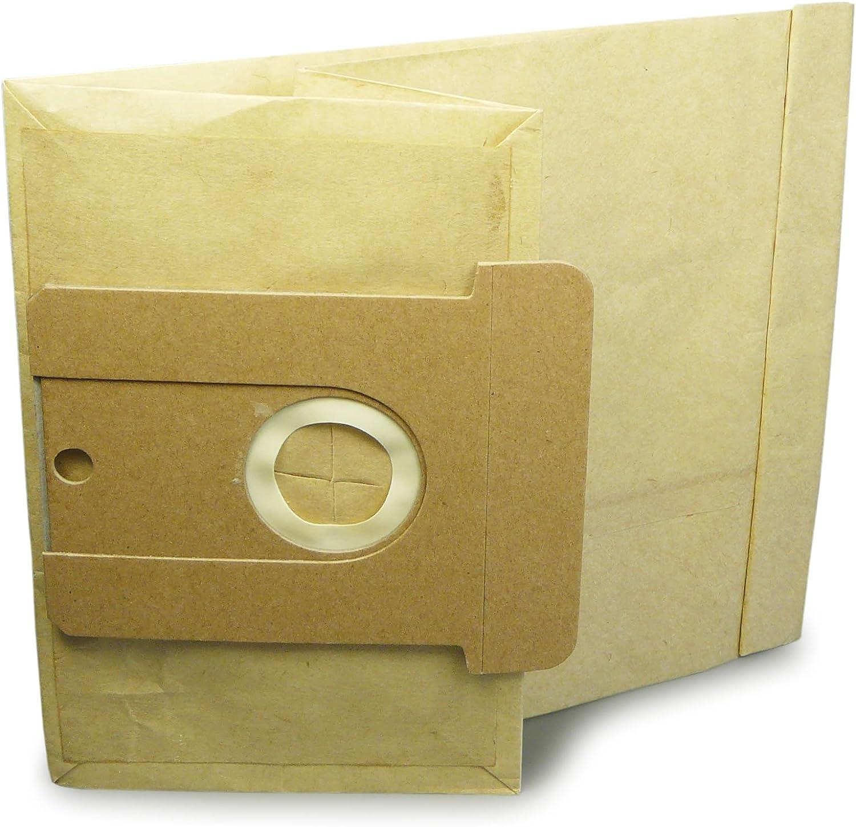 Typ 22 23 24 25 26 10x Bolsas de aspiradora papel para AEG Gr/ö/ße AEG Vampyr 700-799 800-899 6100-7999 8000-8999 Comfort 625el Comfort Electronic i Edition 2000 Exquisit 1300 1310 TB Plus