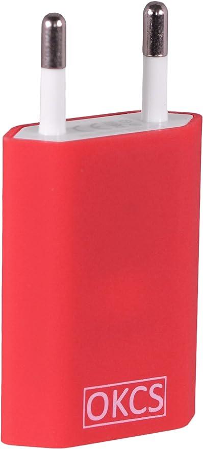 32 opinioni per OKCS Red Caricabatterie veloce e sicuro- 1m- Lightning cavo a 8 Pin e di