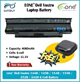Safebuy Eone Dell Vostro 1440 1450 1540 1550 2520 2420 6 Cell Battery