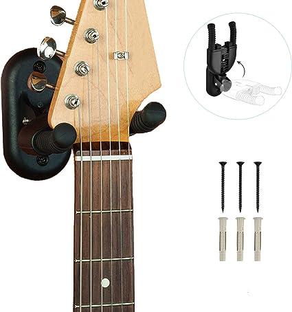 OTraki Soporte para Guitarra Pared con Bloqueo Automático Guitarra ...