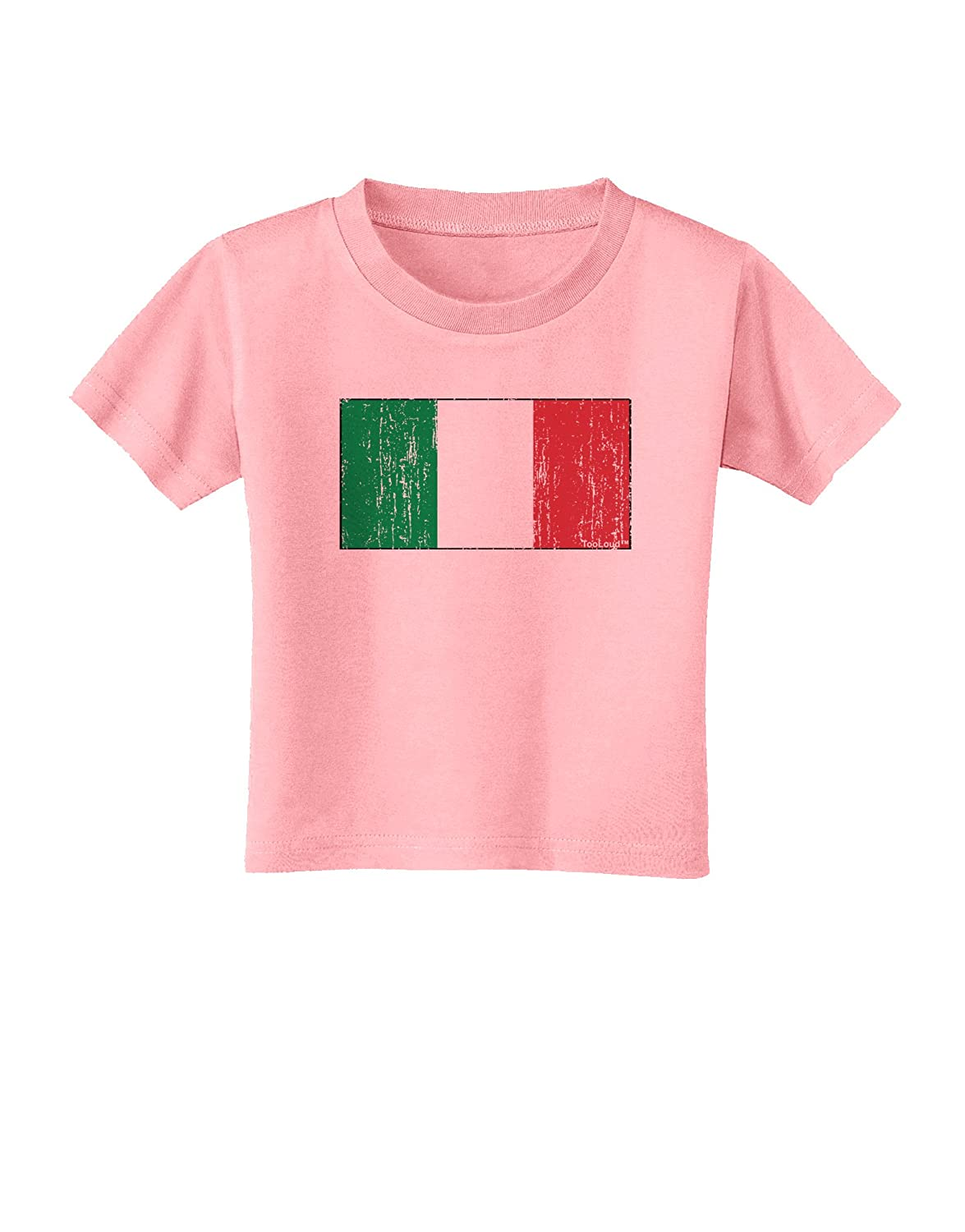 Distressed Toddler T-Shirt TooLoud Italian Flag