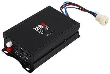 MB Quart NA1 – 400.1 400 W Mono Amplificador AMP Para Polaris/ATV/UTV