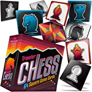 Pocket Chess Set 64 Flat Game Cards to Take & Play Wherever You Travel!