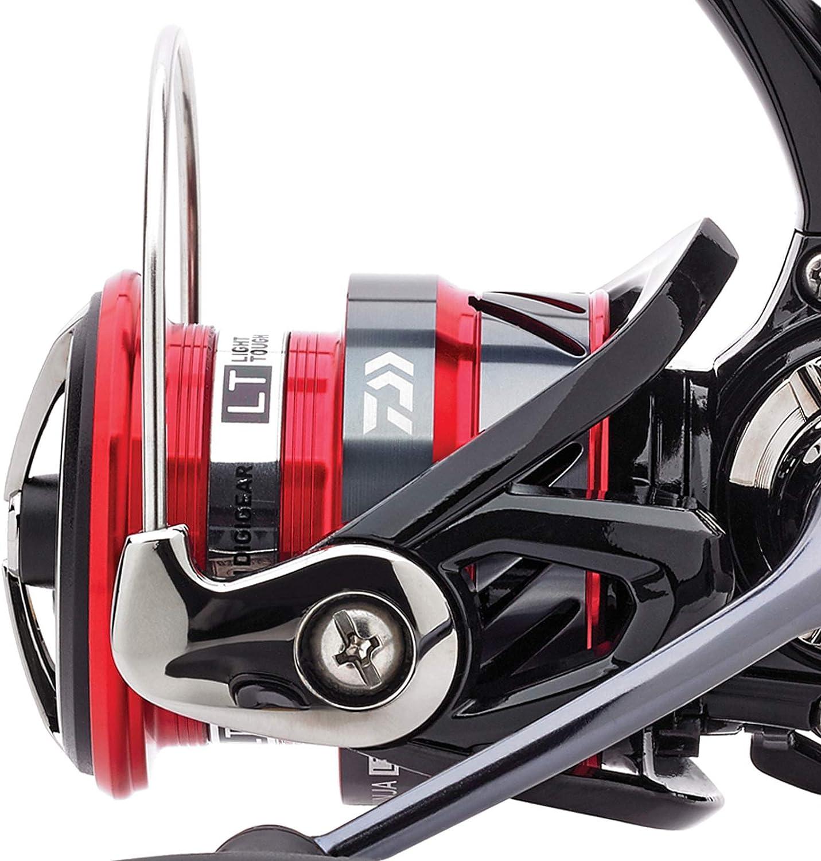 Angel-Berger Daiwa Ninja LT Spinnrolle Angelrolle mit Pro Line x-Treme Schnur