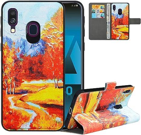 Lfdz Handyhülle Für Samsung A40 Hülle Premium 2 In 1 Elektronik