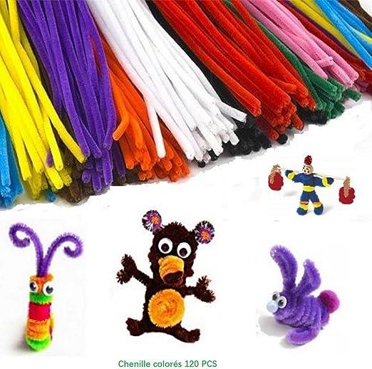 Pack ahorro de limpiapipas de 30 cm en 10 colores variados para ...