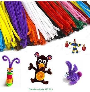 Navidad regalos 120/pcs Color craft limpiapipas 12/colores Bump chenilla tallos para Creative hecho a mano DIY y manualidades de arte