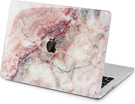 Pink Stone Marble Design Hard Case For Macbook Pro Retina Air 11 12 13 15 2016