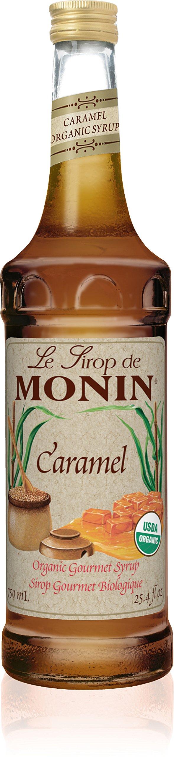 Monin Organic Syrup Caramel - Single Bottle