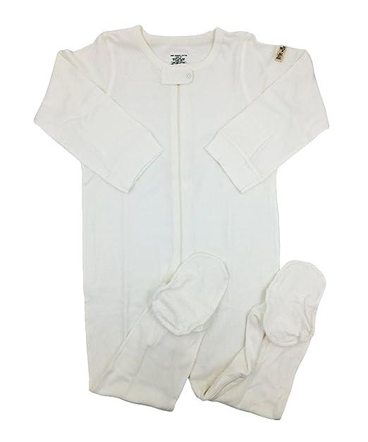 44c2eb1b4 Amazon.com  little world peas Organic Toddlers Boys Footed Bodysuits ...