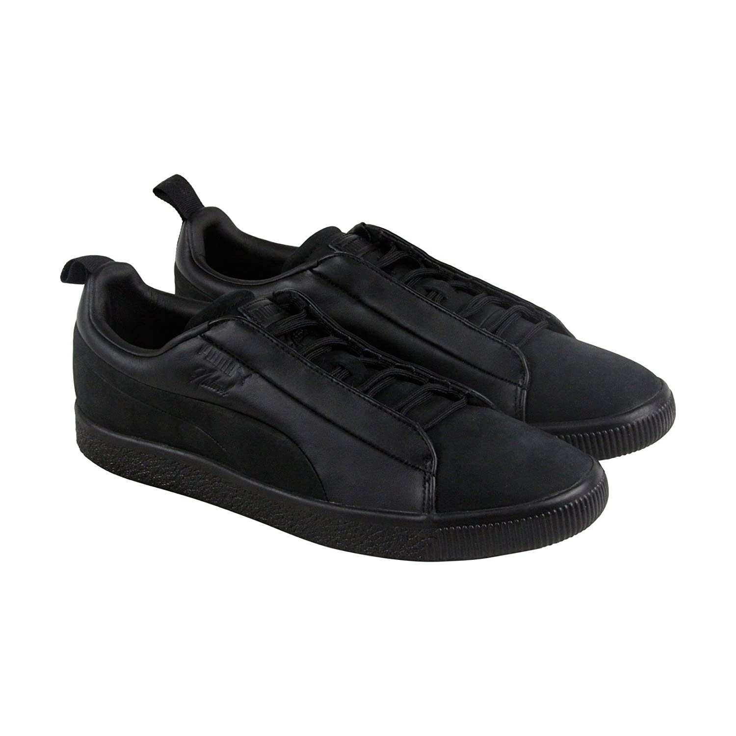 the latest 7e291 df009 Puma X Naturel Clyde FSHN Mens Black Suede Lace Up Sneakers ...