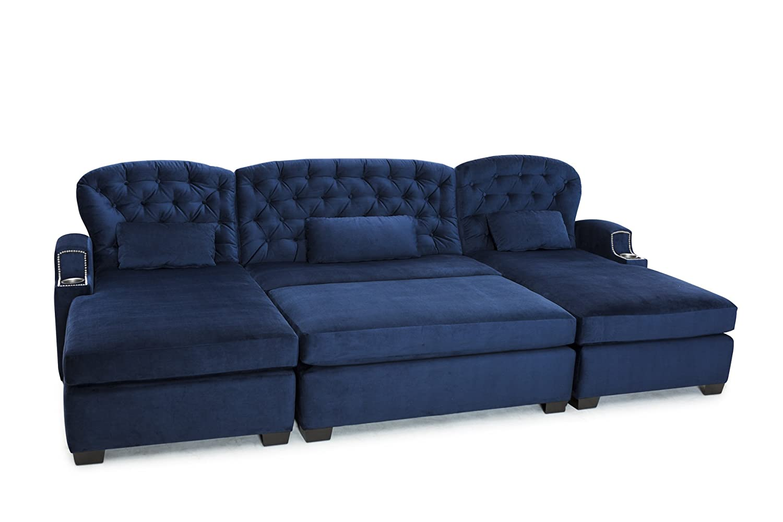 Amazon.com: Cavallo Seating Chateau Bella Fabric Custom Home ...