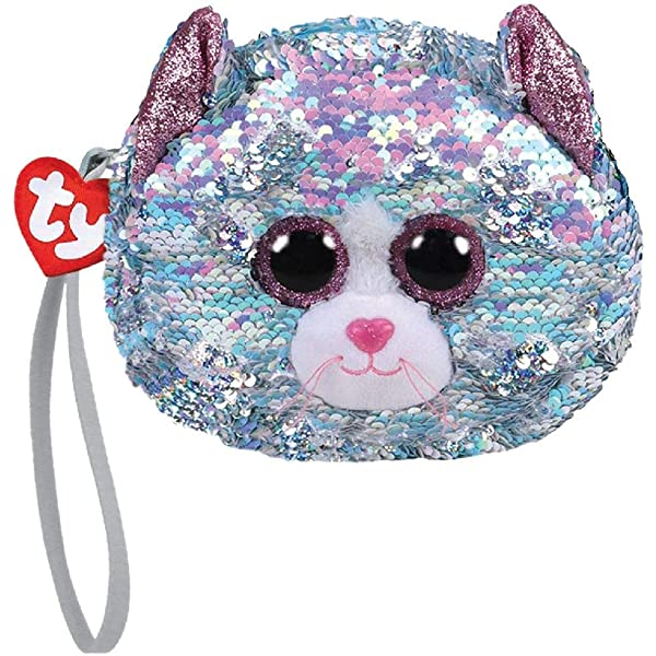 Ty Beanie Babies 95235 Ty Gear Dangler the Sloth Boo Purse Wristlet Sequined