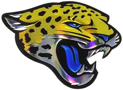 fe9bfc23 Amazon.com : NFL Jacksonville Jaguars Die Cut Color Automobile ...