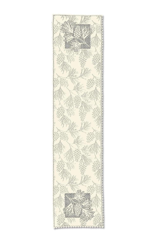 Heritage Lace Woodland Runner, Ecru, 14 x 45-Inch WL-1445E