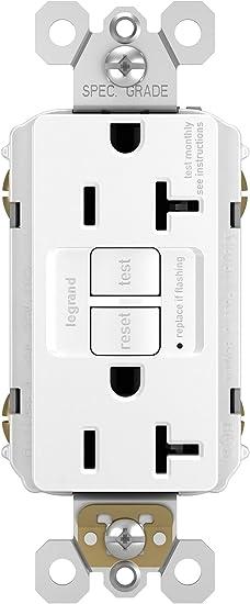 20 Amp Self-Test GFCI Safety Outlet