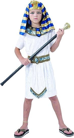 Disfraz de faraón egipcio niño - 7 - 9 años: Amazon.es: Juguetes y ...
