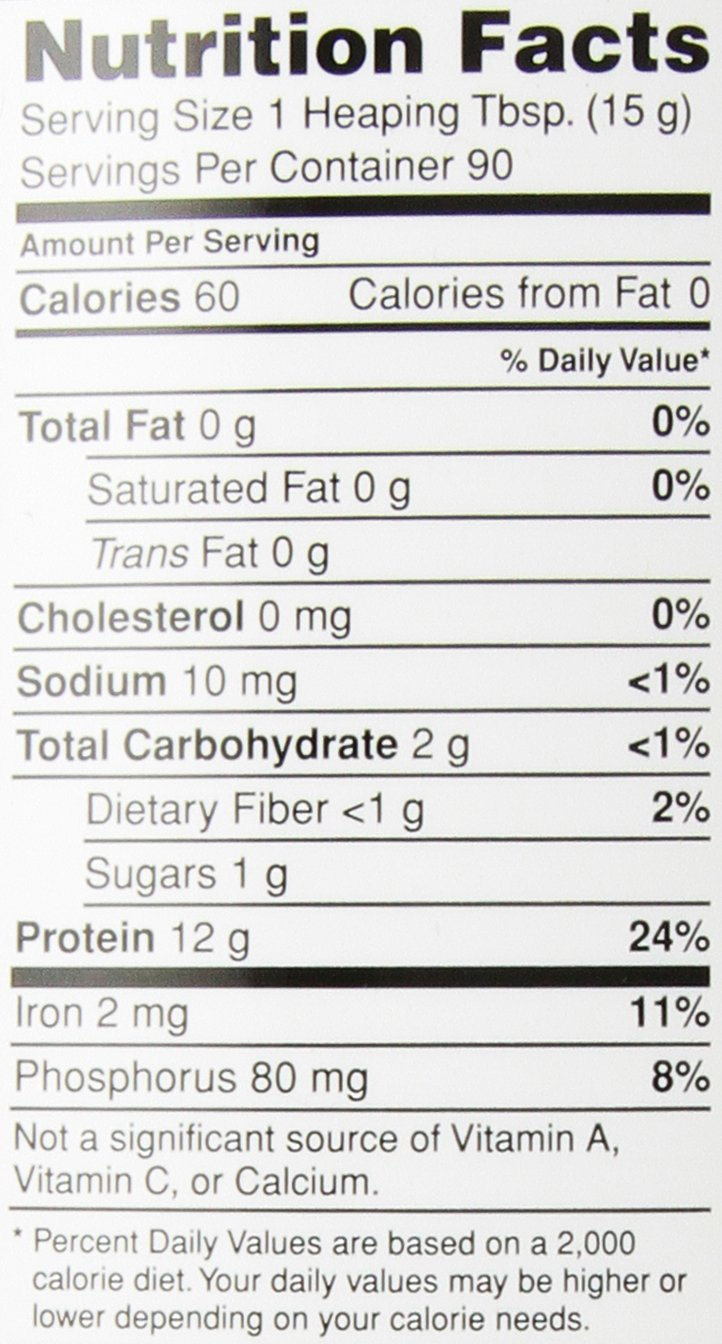 Nutribiotic Organic Rice Protein, Vanilla, 3 Pounds by Nutribiotic (Image #2)