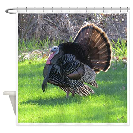 CafePress Turkey Shower Curtain Decorative Fabric 69quot