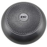 EWA A110mini スピーカー bluetooth 重低音強化 【コンパクト/TWS機能対応/エッジ付きドライバー/大音量/Micro SDカード対応/EVA専用ケース付き】 (グレー)