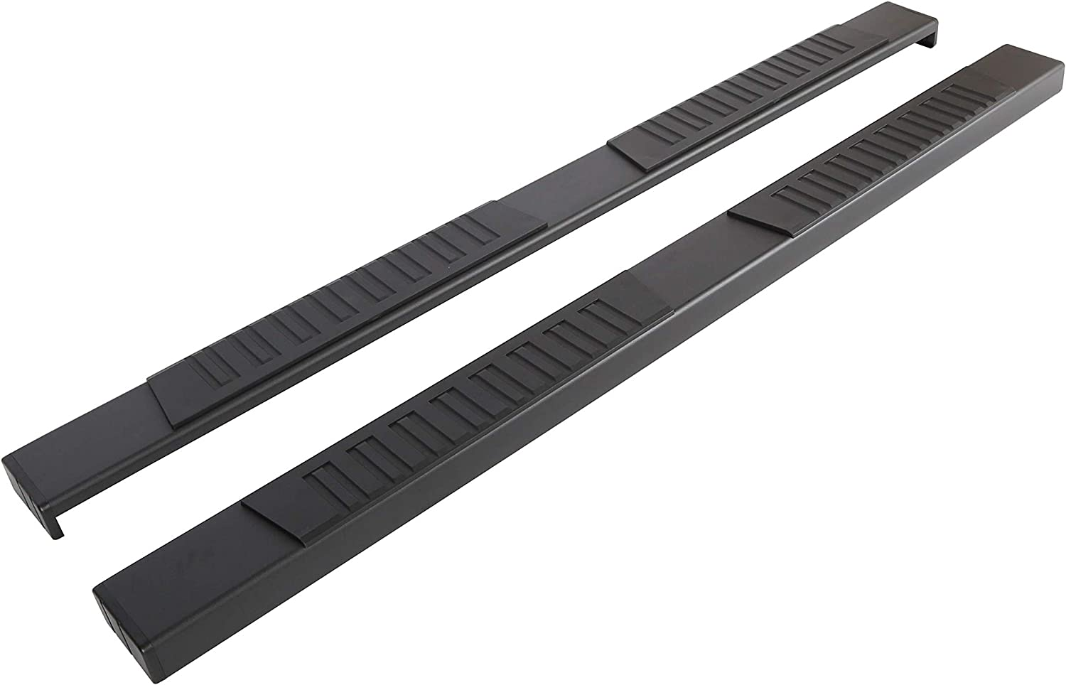 2020 Chevy Silverado//Gmc Sierra 2500//3500HD Crew Cab Side Step Nerf Bar Ziruiautopart 6 inch Black Aluminum Running Boards Compatible for 2019-2020 Chevy Silverado//Gmc Sierra 1500