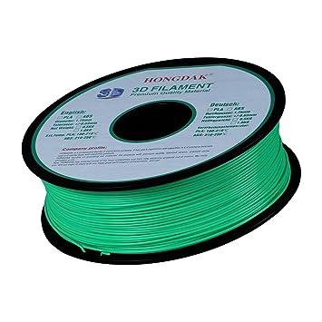 HONGDAK, Pla 3d impresión, 3d impresora filamento, Dimensional ...