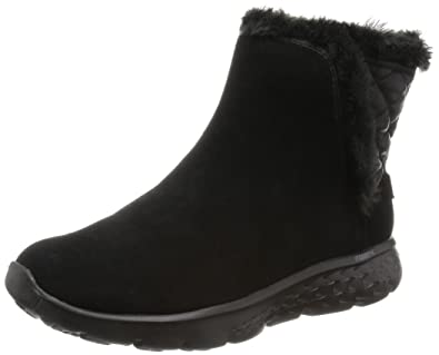 Skechers Performance Women's On The Go 400 Cozies Winter Boot,Black,7.5 M US