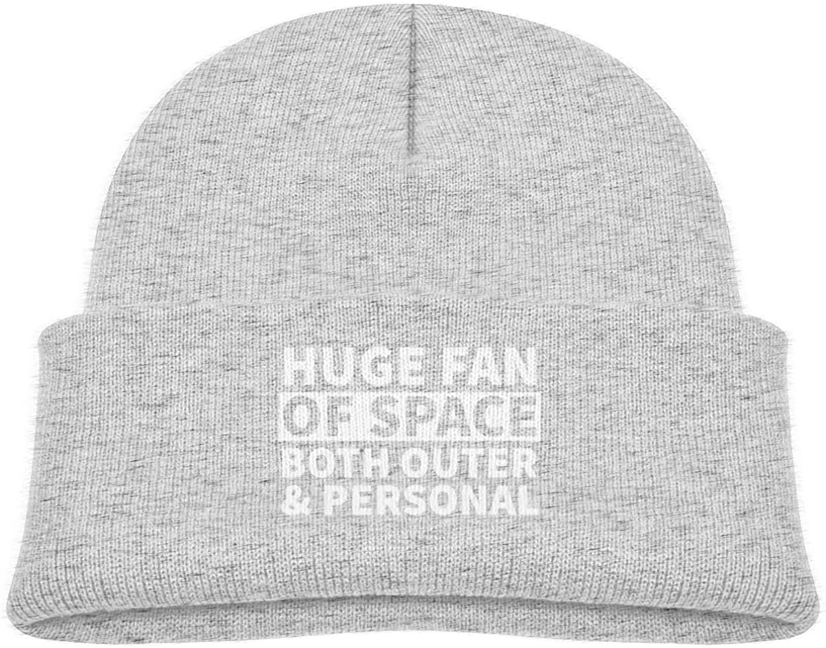 Keviewly Huge Fan of Space Both Outer and Personal Baby Girls Warm Beanie Hats Knit Caps