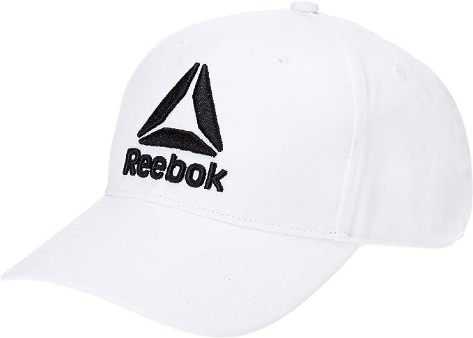 Reebok Act Enh Baseb Cap Gorro, Hombre, Blanco, Talla Única ...