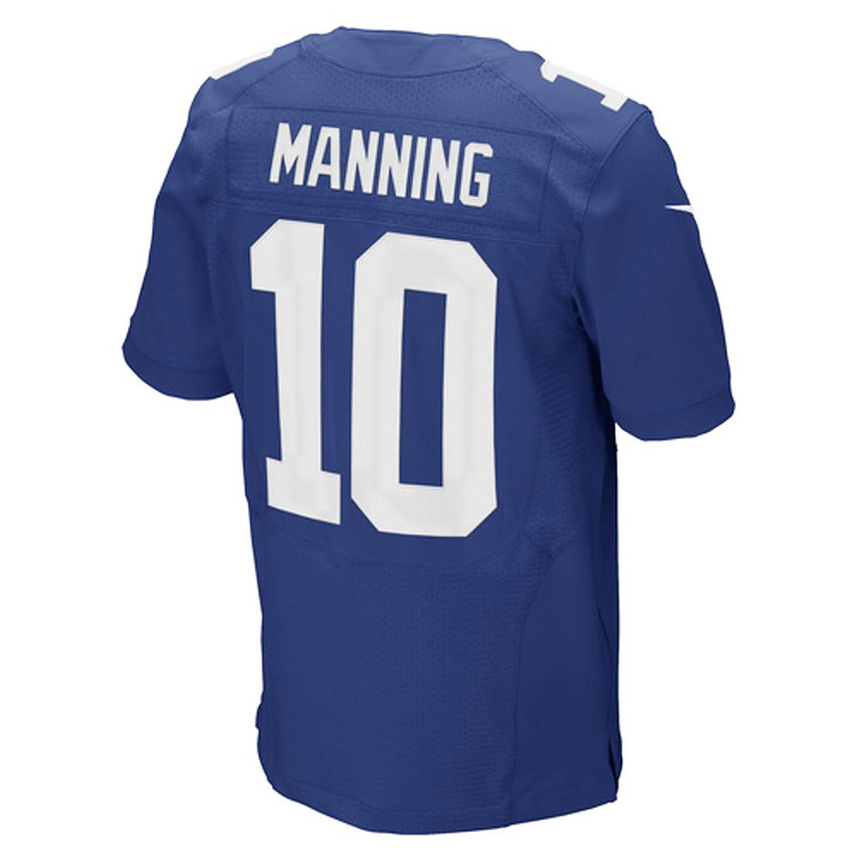 5249924282c Amazon.com : NIKE Eli Manning New York Giants Royal Blue Authentic Elite  Stitched On-Field Jersey - Men's 56/ 3XL (XXXL) : Sports & Outdoors