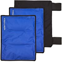 Gel Packs and Wrap - Use as Hip Ice Pack Wrap, Leg Ice Pack Wrap, or Cold Pack for...