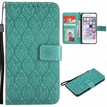 Yiizy Fundas Samsung Galaxy S7 Edge / G935F Tapa, Flores ...