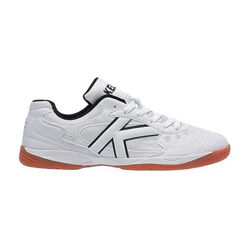 Kelme Indoor Copa, Zapatilla de fútbol Sala, Blanco: Amazon.es: Zapatos y complementos